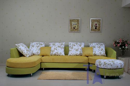 Sofa góc đóng sẵn TA010
