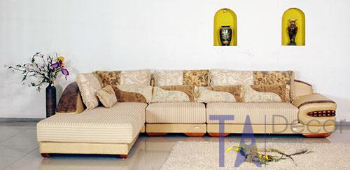 Sofa góc đóng sẵn TA011