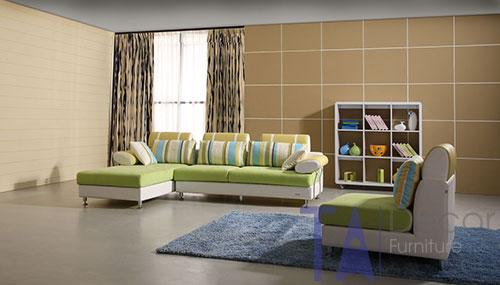 Sofa góc đóng sẵn TA015