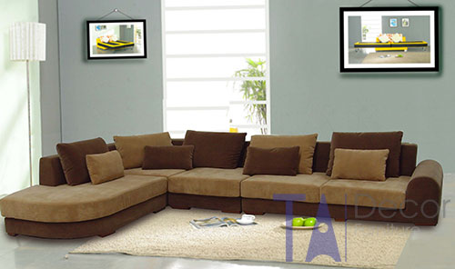 Sofa góc đóng mới theo yêu cầu TA010