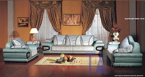 Sofa cổ điển đóng sẵn TA002