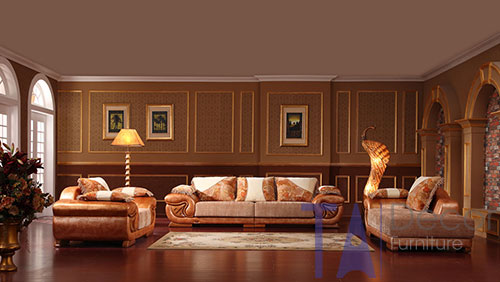 Sofa cổ điển đóng sẵn TA005