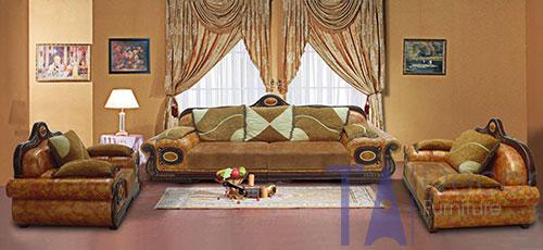 Sofa cổ điển đóng sẵn TA007