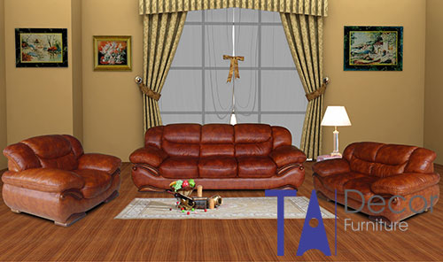 Sofa phòng khách đóng sẵn TA007