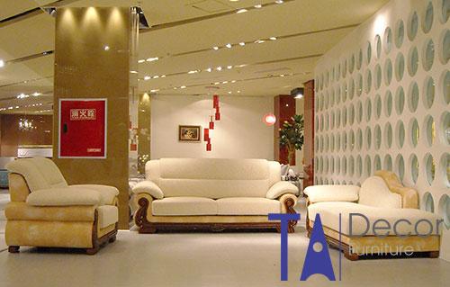 Sofa phòng khách đóng mới TA005