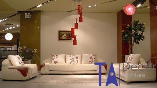 Sofa phòng khách đóng mới TA006