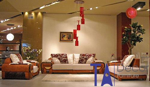Sofa phòng khách đóng mới TA009