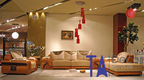 Sofa phòng khách đóng mới TA010