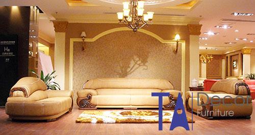 Sofa cổ điển đóng mới TA002