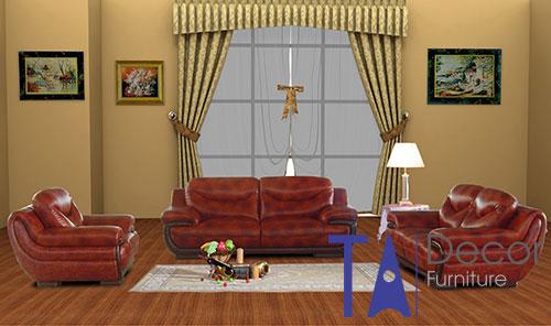 Sofa cổ điển đóng mới TA007