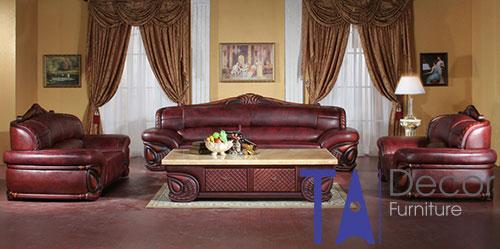 Sofa cổ điển đóng mới TA008