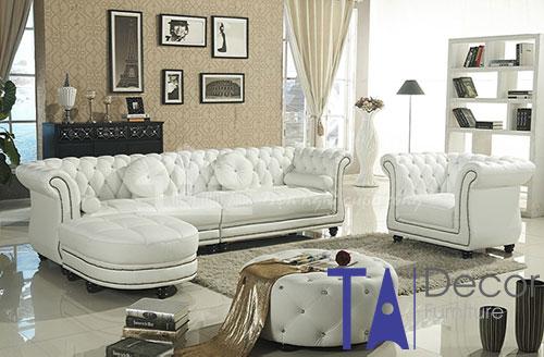 Sofa cổ điển đóng mới TA003
