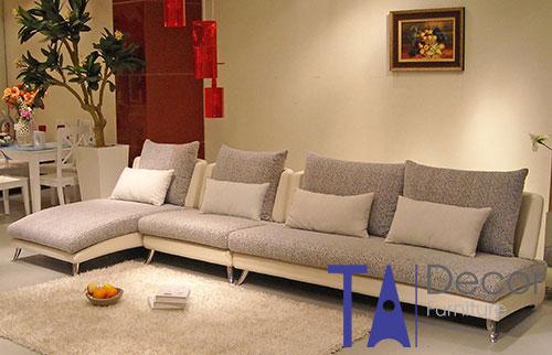 Sofa góc đóng mới theo yêu cầu TA014