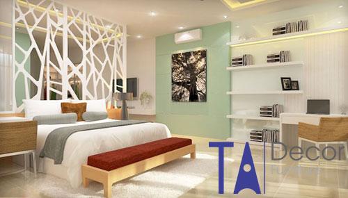 Vách ngăn gỗ TA005