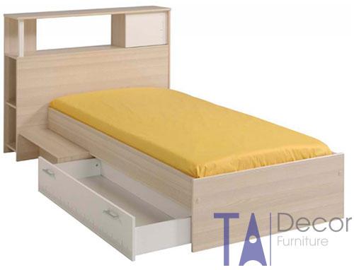 Giường gỗ đơn TA 001