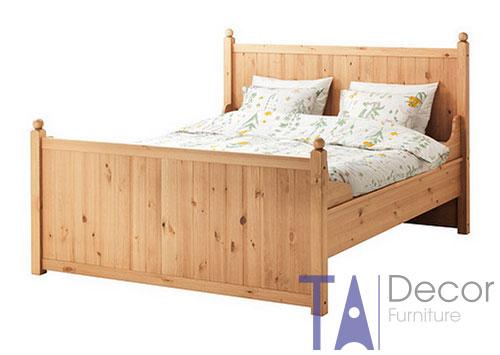 Giường gỗ đôi TA 001