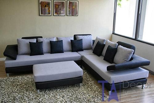 Sofa góc đóng sẵn TA004