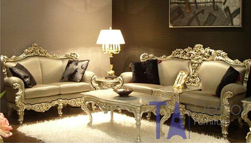 Sofa nhập khẩu phong cách cổ điển TA002
