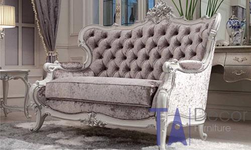Sofa nhập khẩu phong cách cổ điển TA003