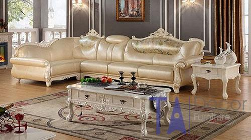 Sofa nhập khẩu phong cách cổ điển TA004